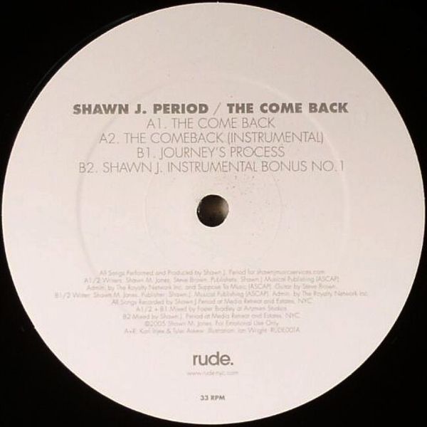 shawn j period the come back
